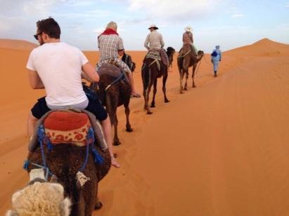 Merzouga camel trekking