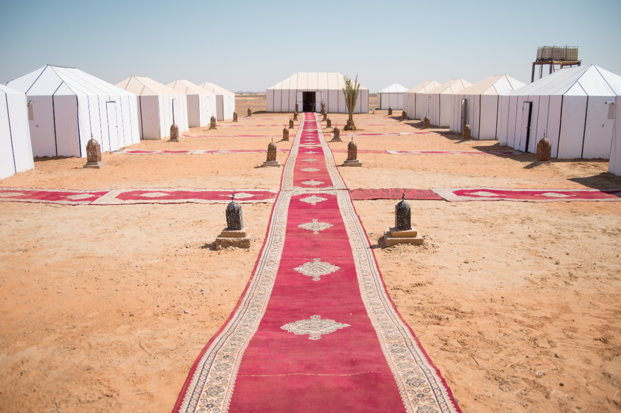 Merzouga luxury desert camp